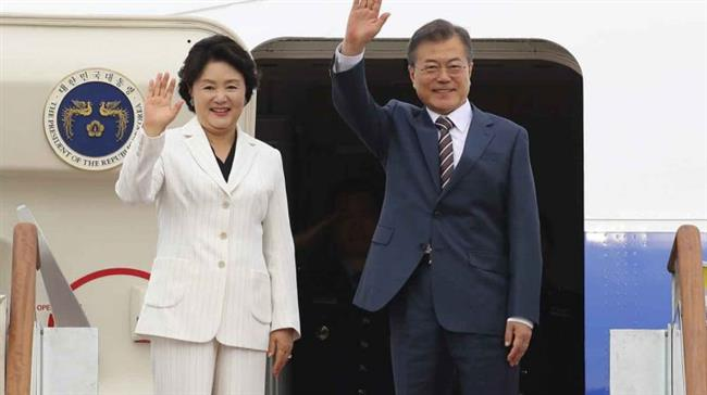 South Korean pres. in US to discuss US-North summit