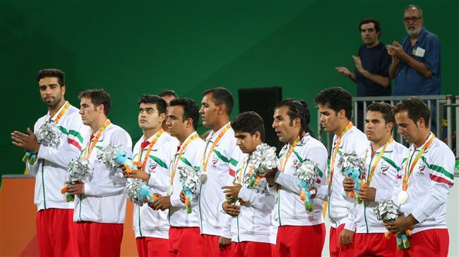 Iranian para footballers runner-up in Belgium tourney