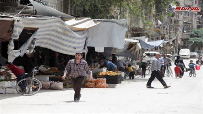 Syrians in Damascus countryside enjoy Ramadan peace