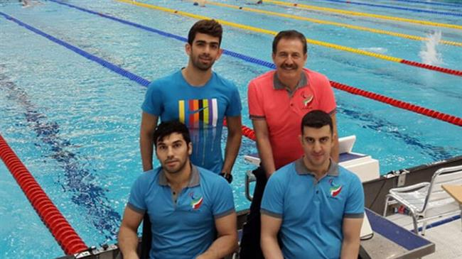 Iranian para swimmers bag 7 medals in IDM Berlin 2018