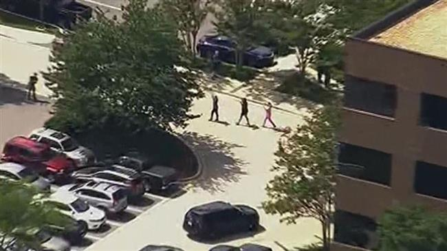 5 dead in newsroom shooting in Maryland
