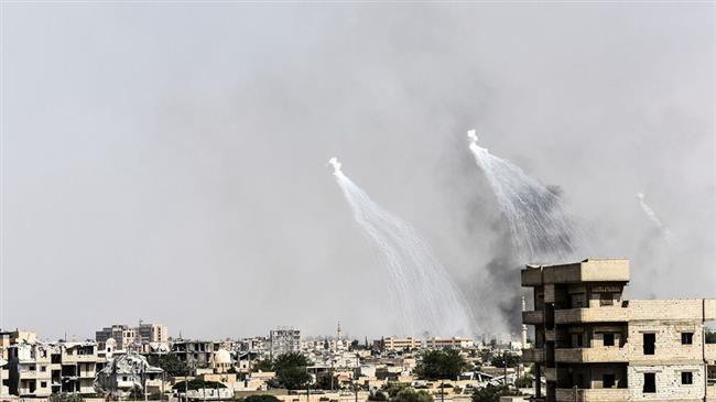 US airstrikes kill 30 civilians in Syria's Bukamal: SANA