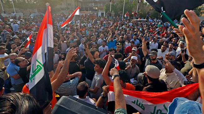 Two dead in Iraq protests over economic woes