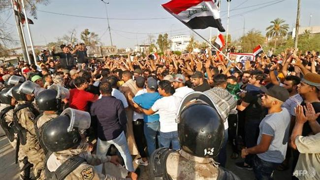 Iraq on high alert amid protests, claims of 'infiltration'