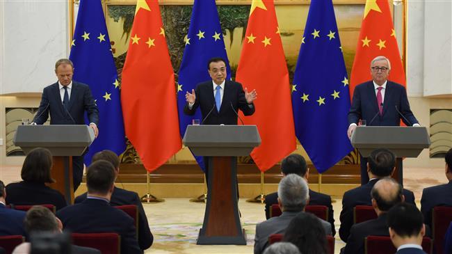 EU's Tusk warns China, Russia, US against trade wars