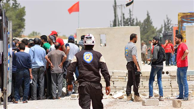 'White Helmets smuggling arms into Syria'