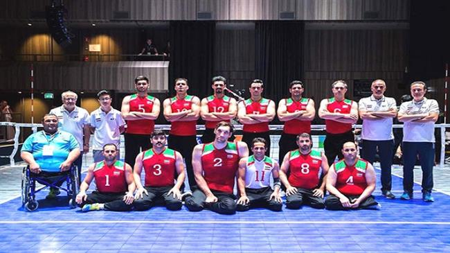 Iranian para v-ballers clinch World C'ships title