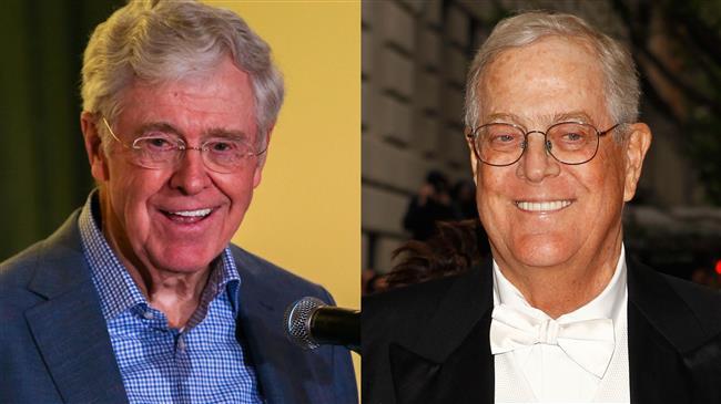 Trump slams powerful Koch brothers as 'overrated'