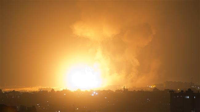 Pictures of military escalation in Gaza
