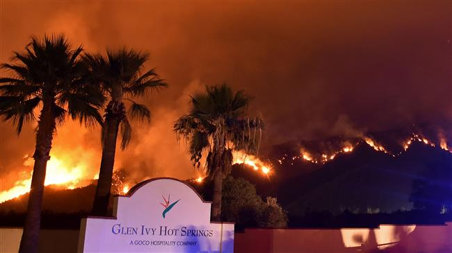 Six large new wildfires erupt in US
