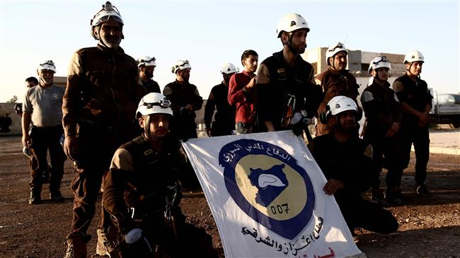'White Helmets help terrorists stage chemical attack'