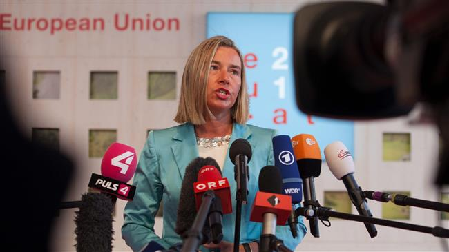 Mogherini vows bids to preserve Iran nuclear deal