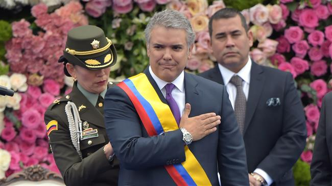 Palestine recognition irreversible: Colombia president