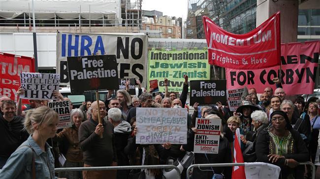 Activists slam UK Labour's reverse on anti-Semitism