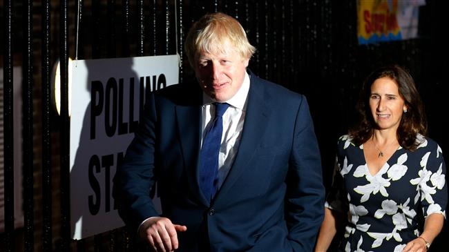 Boris Johnson booed for having affair