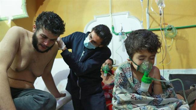 'Terrorists begin filming mock chemical attack in Idlib'