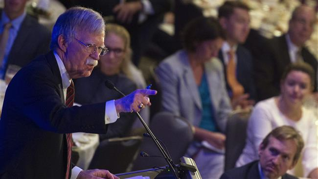 Bolton threatens 'much stronger' attack on Syria