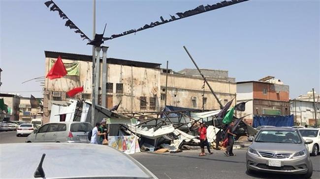 Video: Saudi troops attack Shia mourning tents in Qatif