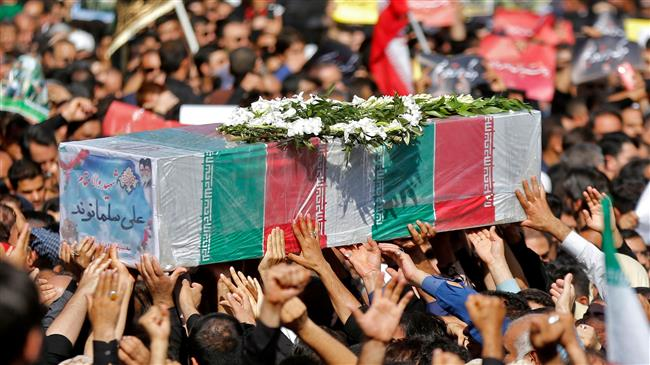 Iran holds funeral ceremony for victims of Ahvaz terror attack
