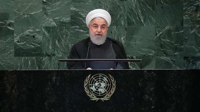 US 'unilateral, illegitimate' sanctions amount to economic terrorism: Rouhani