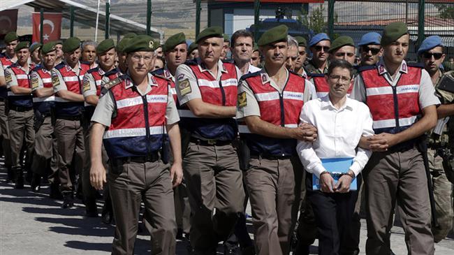 Turkish police arrest 13 suspects over Gulen links