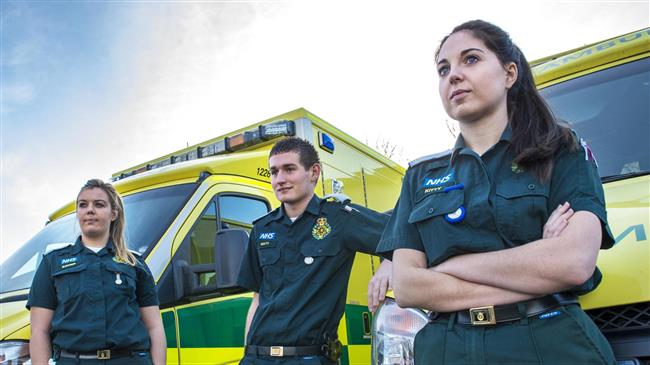 Female paramedics forced to sex in UK: Report