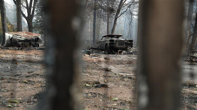 California cities 'most polluted' in world due to wildfires