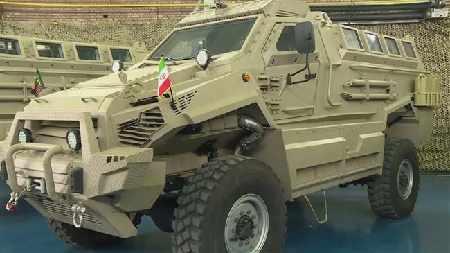 Iran unveils Toofan armored mine-resistant vehicle