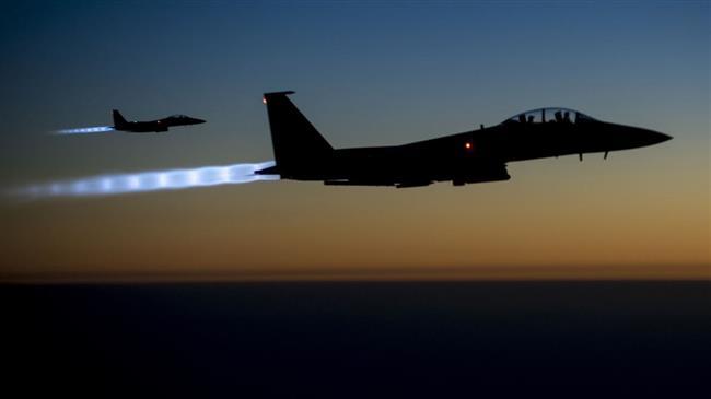 US-led jets drop white phosphorus bombs on Syria town