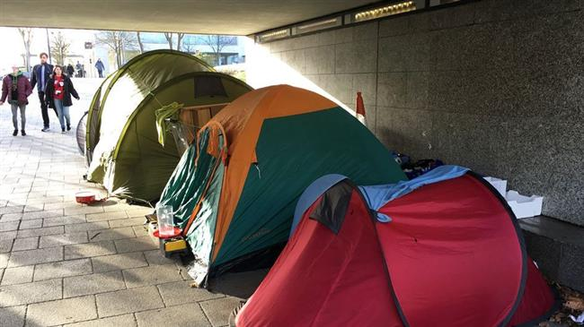 UK homelessness surges annually, data shows
