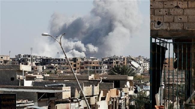 US-led air raids kill 11 civilians in eastern Syria