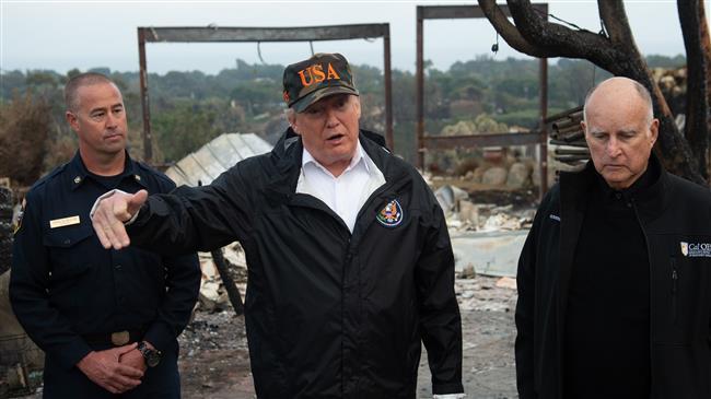 'Trump ignores climate change, prefers economy'