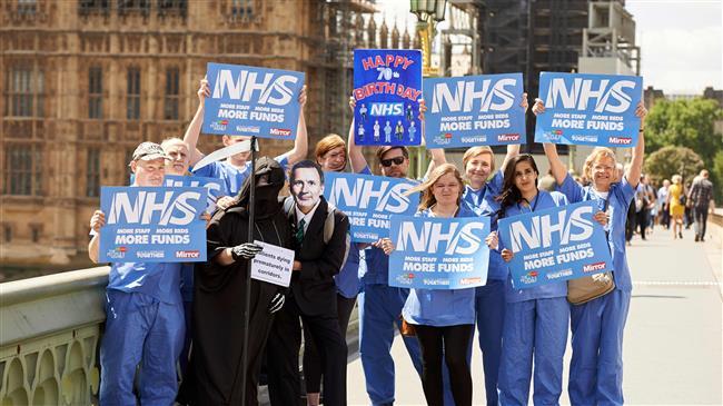 'British hospitals to buckle under winter pressure'