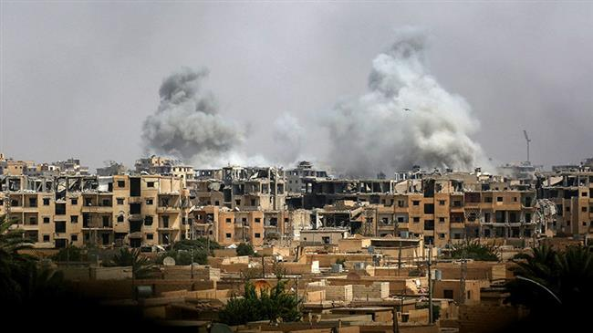 US-led coalition strikes kill 206 in Syria's Dayr al-Zawr