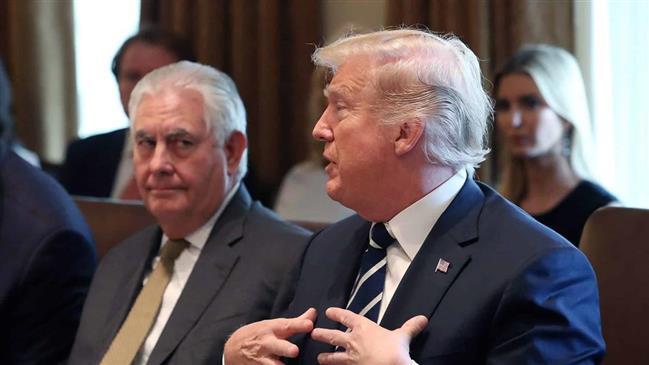 Trump calls Tillerson 'dumb as a rock'