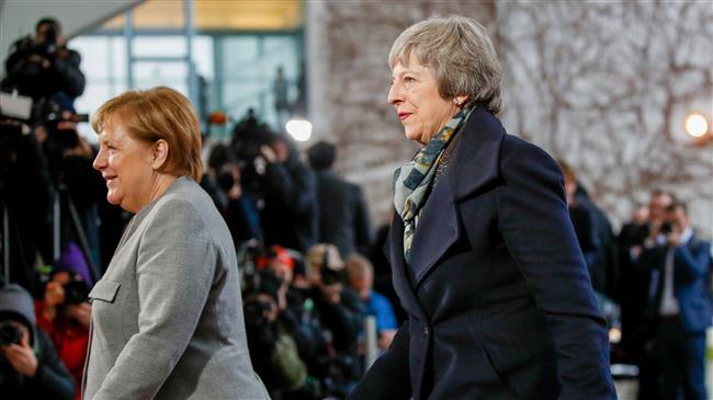 EU hard on Brexit as UK PM tours Europe