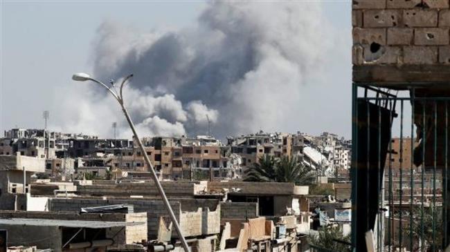 Over dozen Syrians killed in fresh US-led airstrikes