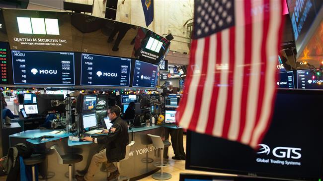 US stocks fall sharply over government shutdown fears