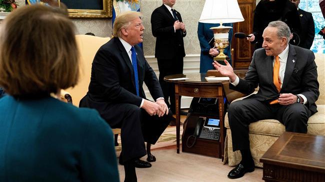 Trump says won't accept alternatives to border wall