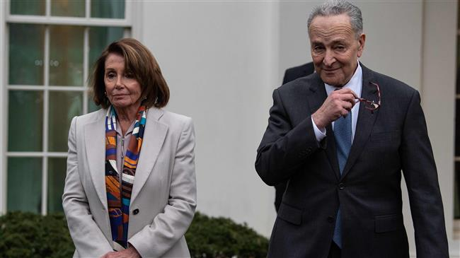 Trump rejects new Democratic push to end shutdown