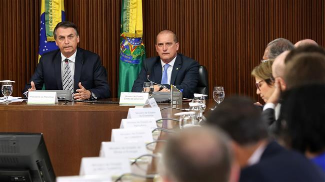 Brazil's Bolsonaro says open to US military base
