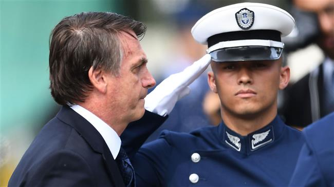 'Brazil military uneasy with US base in country'