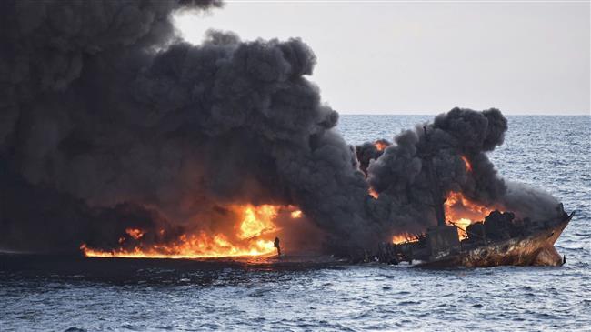 Iranians mark anniversary of Sanchi oil tanker sinking