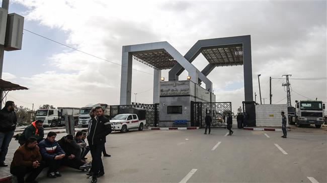 'Egypt limits crossing Rafah for Palestinians of Gaza'