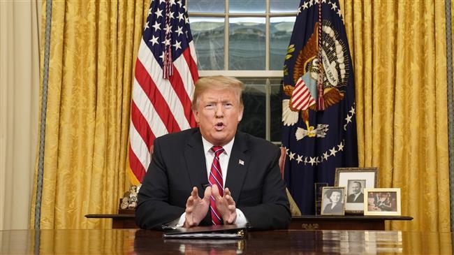 Trump addresses nation amid government shutdown