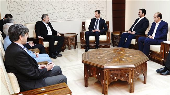 Iranian lawmakers discuss bilateral ties with Syria