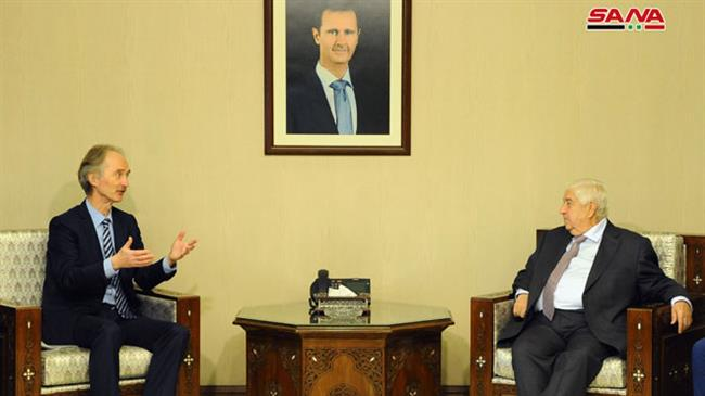 'Damascus ready to cooperate with new UN Syria envoy'