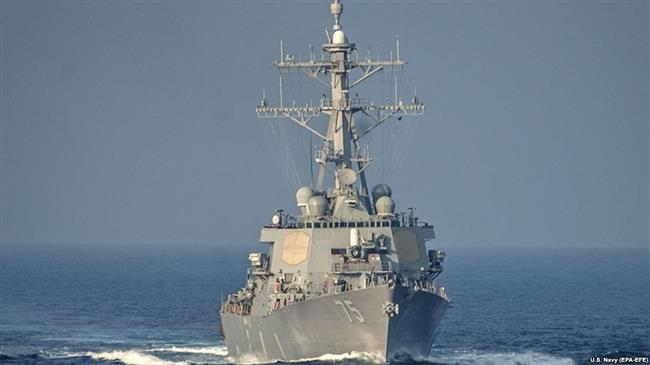 Stay away from Russian coast, Moscow warns US warship