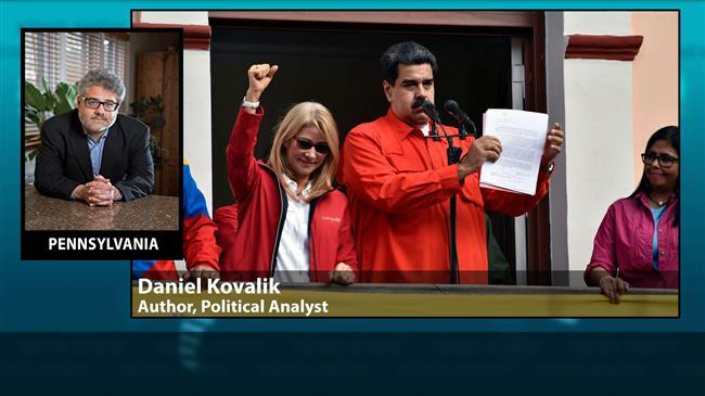 US fomenting a civil war, coup in Venezuela: Expert