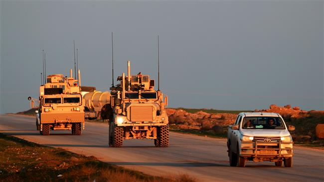 US deploys 250 trucks of arms to bases in Syria: Video